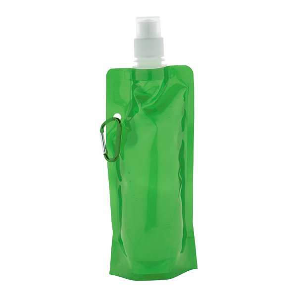 borraccia_plastica_pieghevole_verde