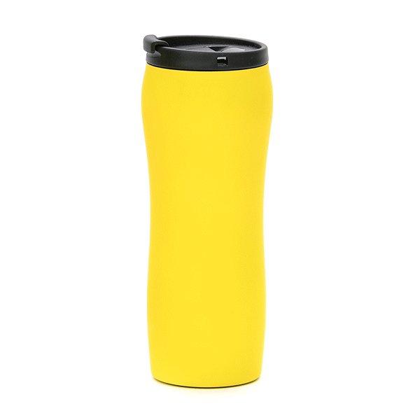 tazza da viaggio a chiusura ermetica personalizzata bc-902t giallo