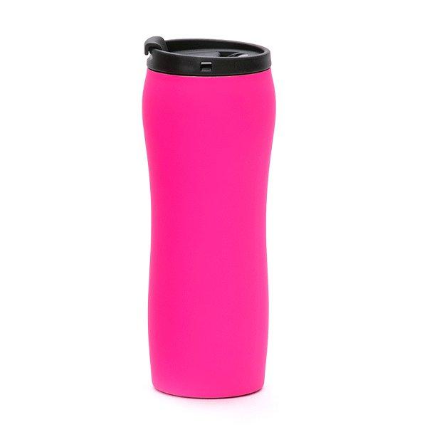 tazza da viaggio a chiusura ermetica personalizzata bc-902t rosa