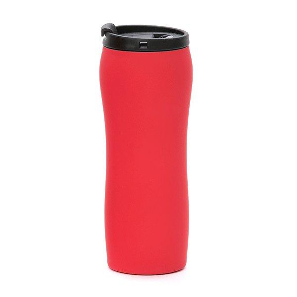 tazza da viaggio a chiusura ermetica personalizzata bc-902t rosso