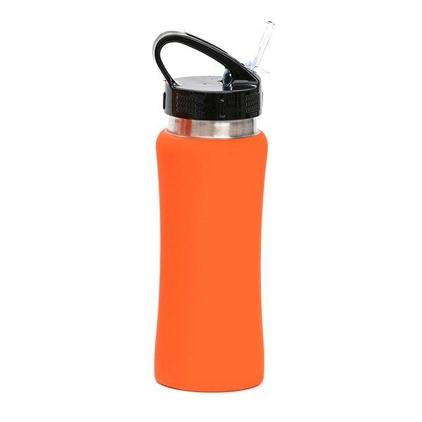 Borraccia in acciaio con beccuccio personalizzata BC-905 arancio