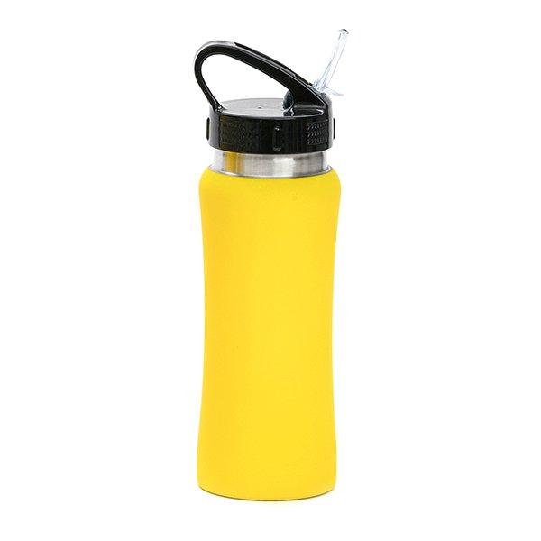 Borraccia in acciaio con beccuccio personalizzata BC-905 giallo