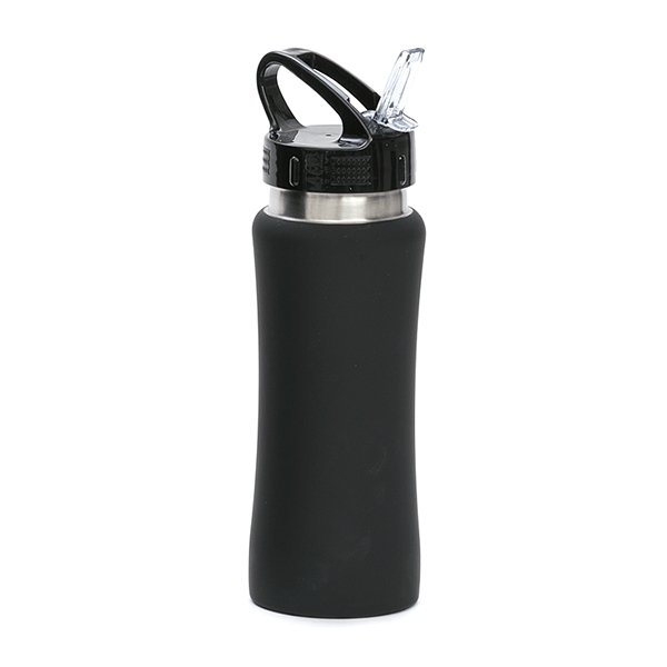 Borraccia in acciaio con beccuccio personalizzata BC-905 nero