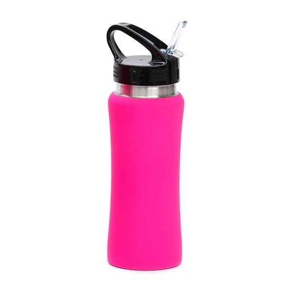 Borraccia in acciaio con beccuccio personalizzata BC-905 rosa