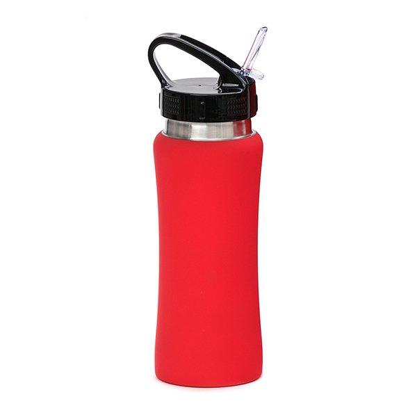 Borraccia in acciaio con beccuccio personalizzata BC-905 rosso
