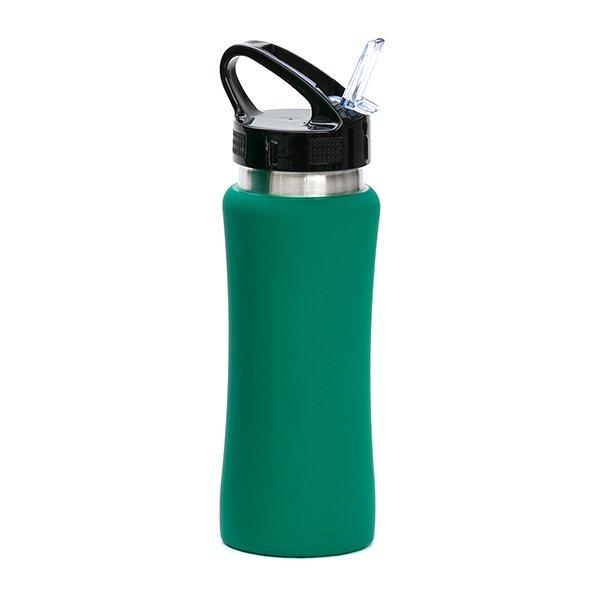 Borraccia in acciaio con beccuccio personalizzata BC-905 verde
